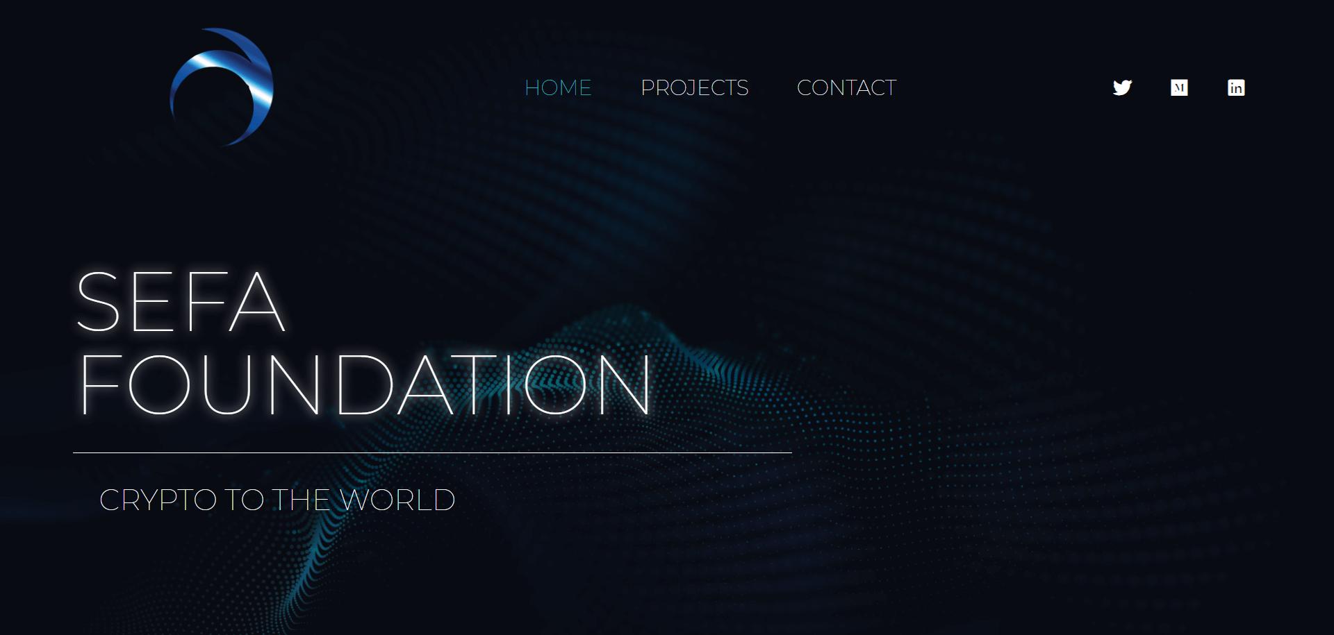SEFA foundation - https://sefa.foundation