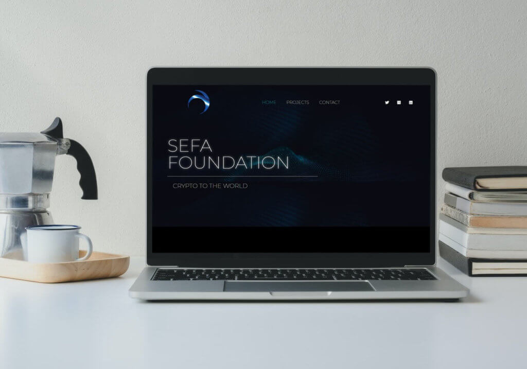 Sefa foundation mockup